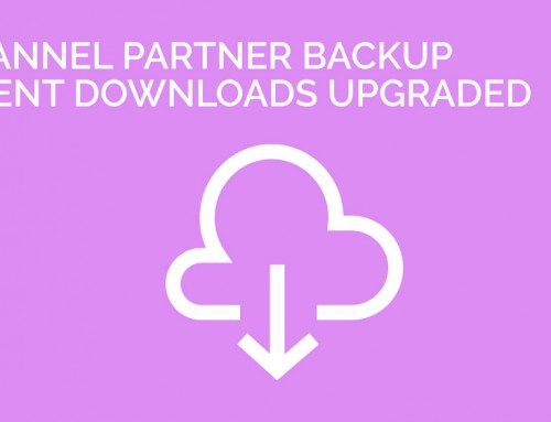 Channel Partner Backup Client Download Links Upgraded
