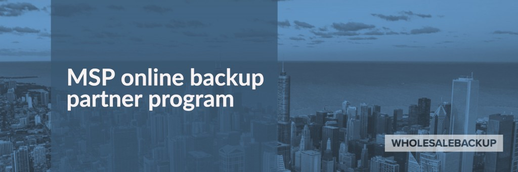 msp online backup partner program