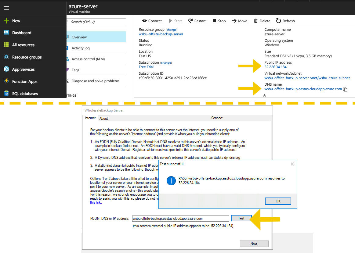 How to deploy a branded offsite backup service on Azure 12 step