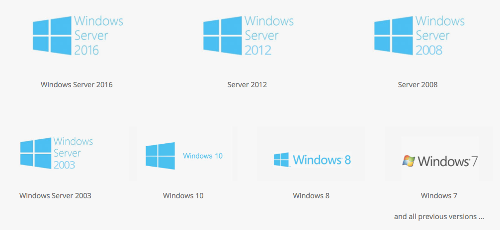 install the offsite backup software or offsite backup solution on any of these windows operating systems